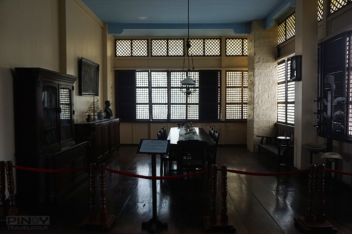 Jose Rizal's birthplace - anteroom