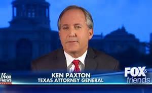 Ken Paxton, Texas attorney general