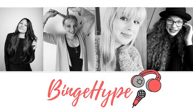BingeHype Serienpodcast, Serienpodcast, Podcast Blogger, Podcast Serien