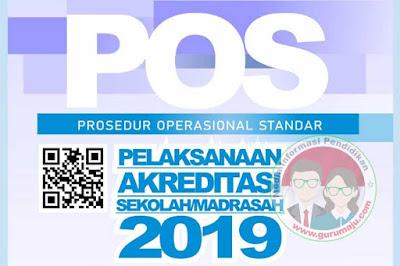 POS Akreditasi Sekolah / Madrasah Tahun 2019