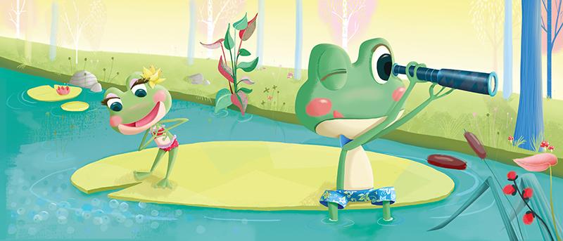 http://camillepplin.blogspot.fr/2014/04/album-petites-grenouilles-grand-mystere.html