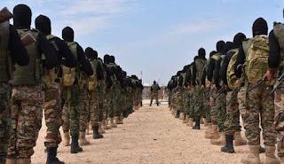 """بهدف دعم جبهات إدلب.. """"تحرير الشام"""" تخرج دفعة جديدة من المقاتلين شمال سوريا (صور)"""