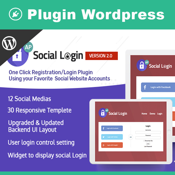 AccessPress Social Login – Social Login WordPress Plugin