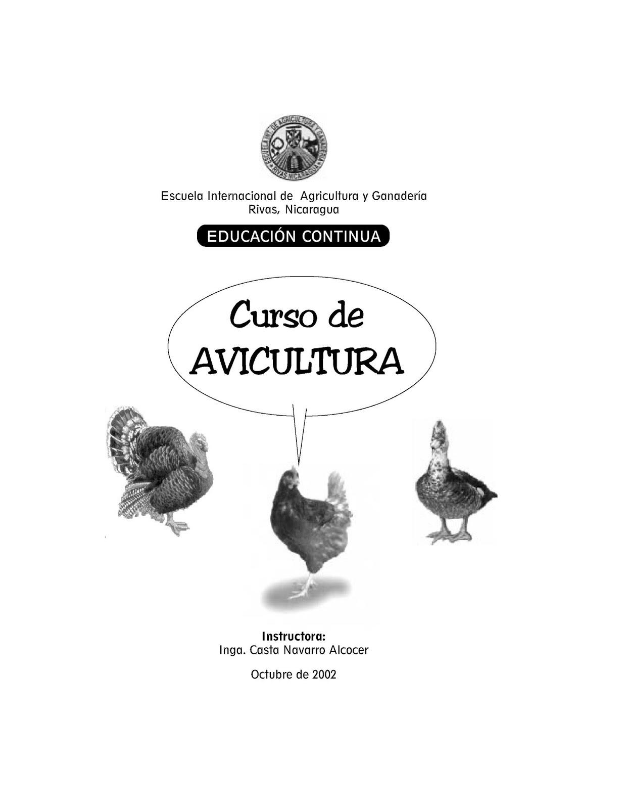 Curso de avicultura