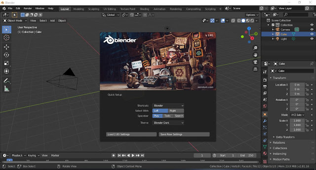 Blender 2.81 Final Kini Telah Rilis, Yuk Download!