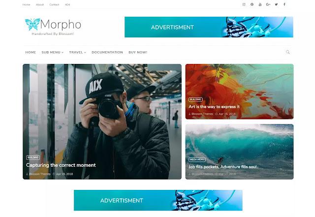 morpho theme