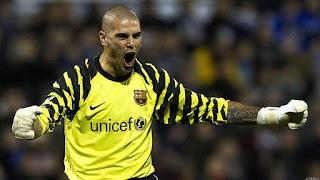 Victor Valdes Returns to Barcelona
