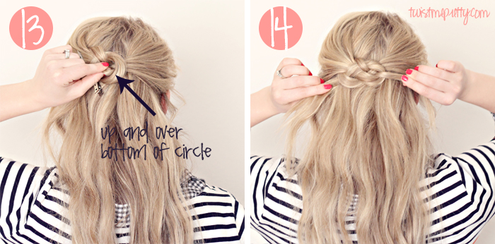 Celtic Knot Tutorial Hairstyle By Abby Of Twist Me Pretty