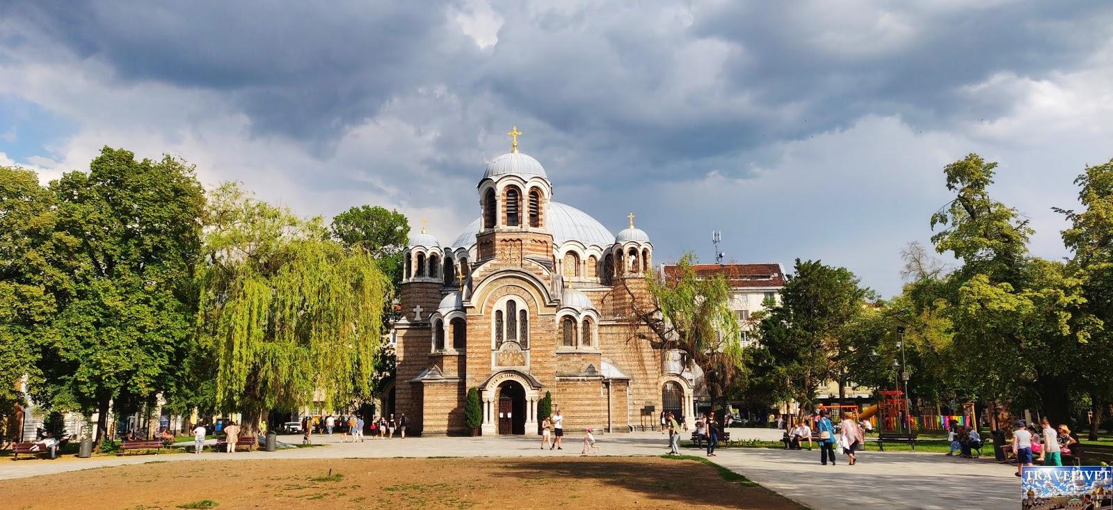 Bulgarie Sofia église Sveti Sedmochislenitsi