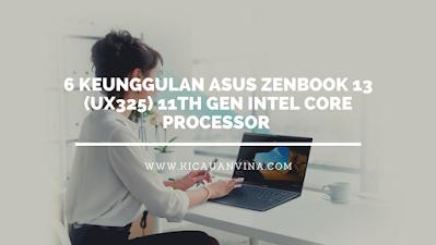 ASUS ZenBook 13 (UX325) 11th Gen Intel Core Processor