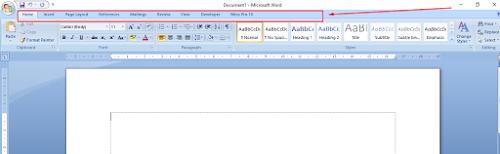 Cara Menampilkan Ruler/Penggaris Pada Microsoft Word