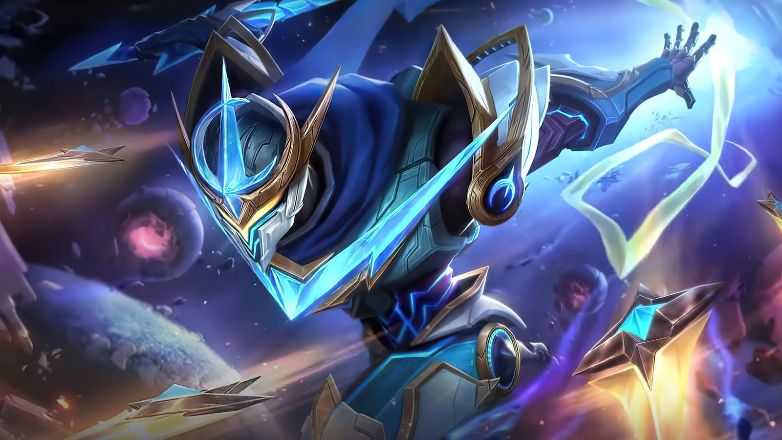 Wallpaper Gusion Cosmic Gleam Skin Mobile Legends HD for PC