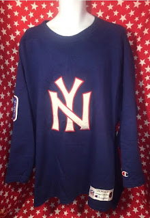 New York Giants Champion Throwbacks jersey