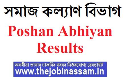 Poshan Abhiyan Results