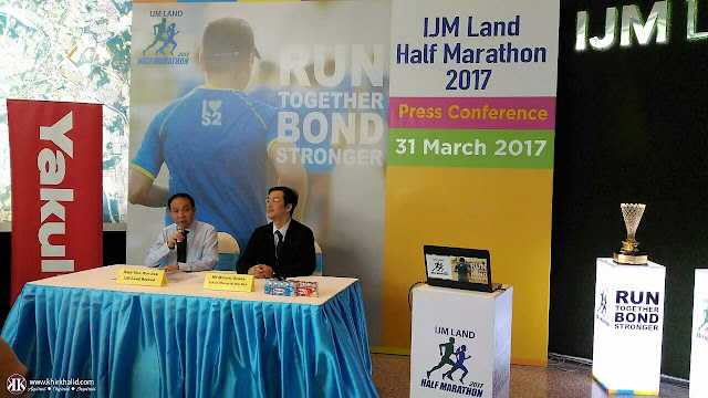 IJM Land Half Marathon 2017, Press Conference,