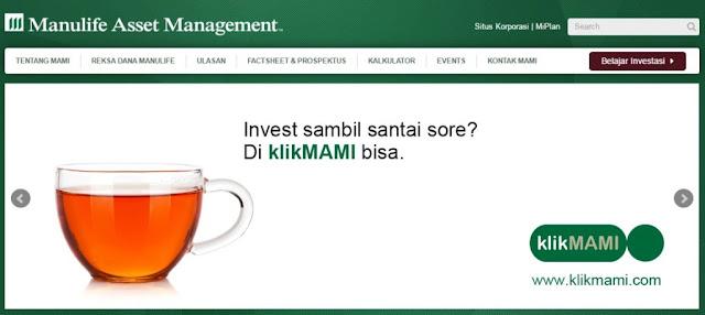 Investasi Reksa Dana Online Manulife Indonesia