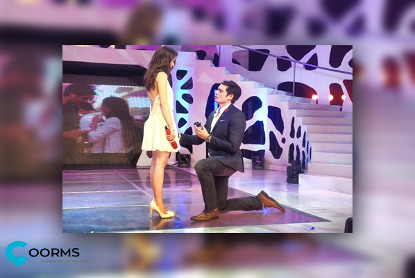 How did Dingdong Dantes Proposes to Marian Rivera