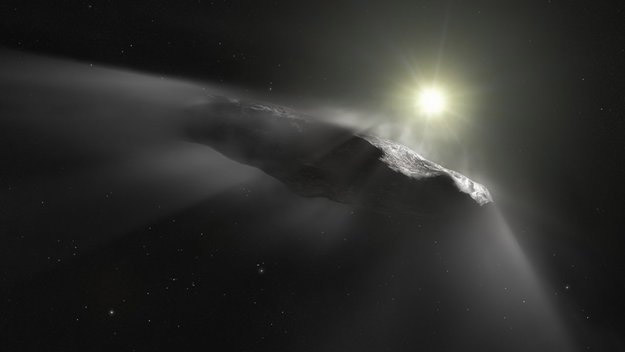 'oumuamua - asteroide, cometa ou nave espacial alienígena?