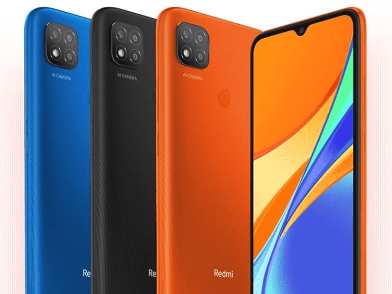 Redmi 9C in three colors