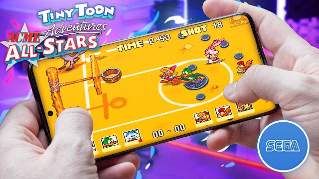 Tiny Toon Adventures - Acme All Stars Para Teléfonos Android (ROM SEGA)