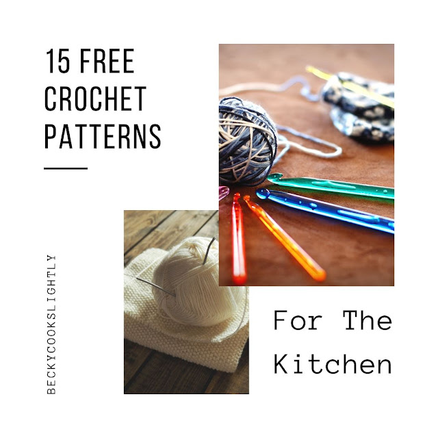 15 Free Crochet Patterns For The Kitchen