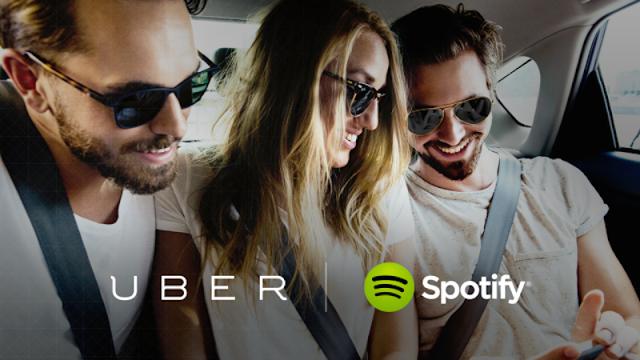 Uber - Spotify