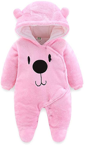 Pink Baby Girl Winter Clothes
