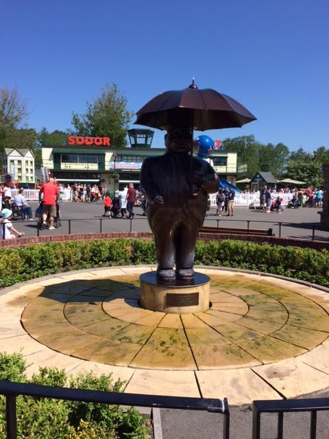 Fat Controller statue