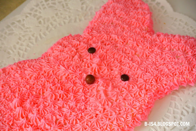 Pink Bunny Cake, Recipe