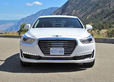 New 2017 Genesis G90 front view