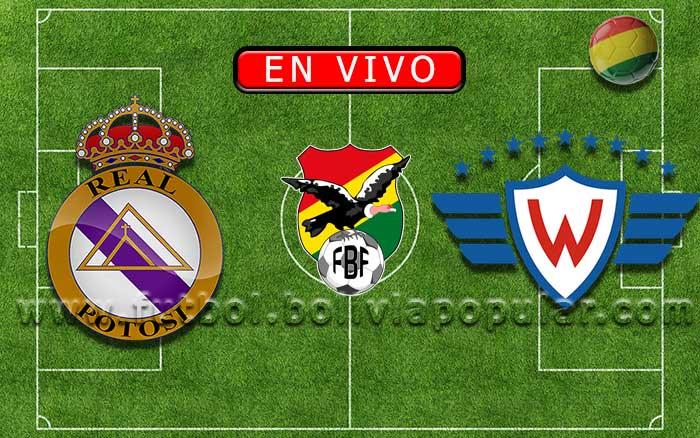 【En Vivo】Real Potosí vs. Wilstermann - Torneo Apertura 2019