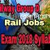 Railway Group D Syllabus 2018 PDF Download