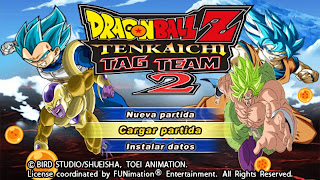 DRAGON BALL Z TENKAICHI TAG TEAM MOD PSP
