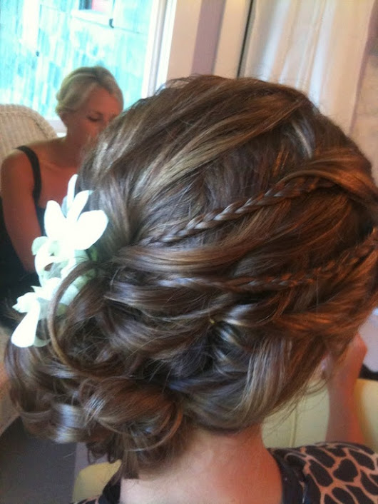 Wedding Hairstyles For Fine Hair  | niza crazee