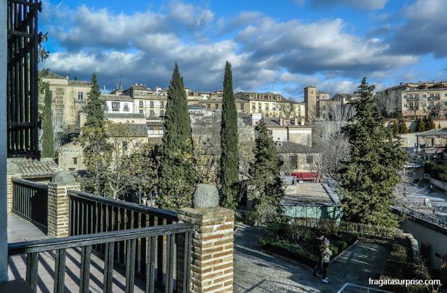 Toledo vista de um balcão do Museu Casa de El Greco
