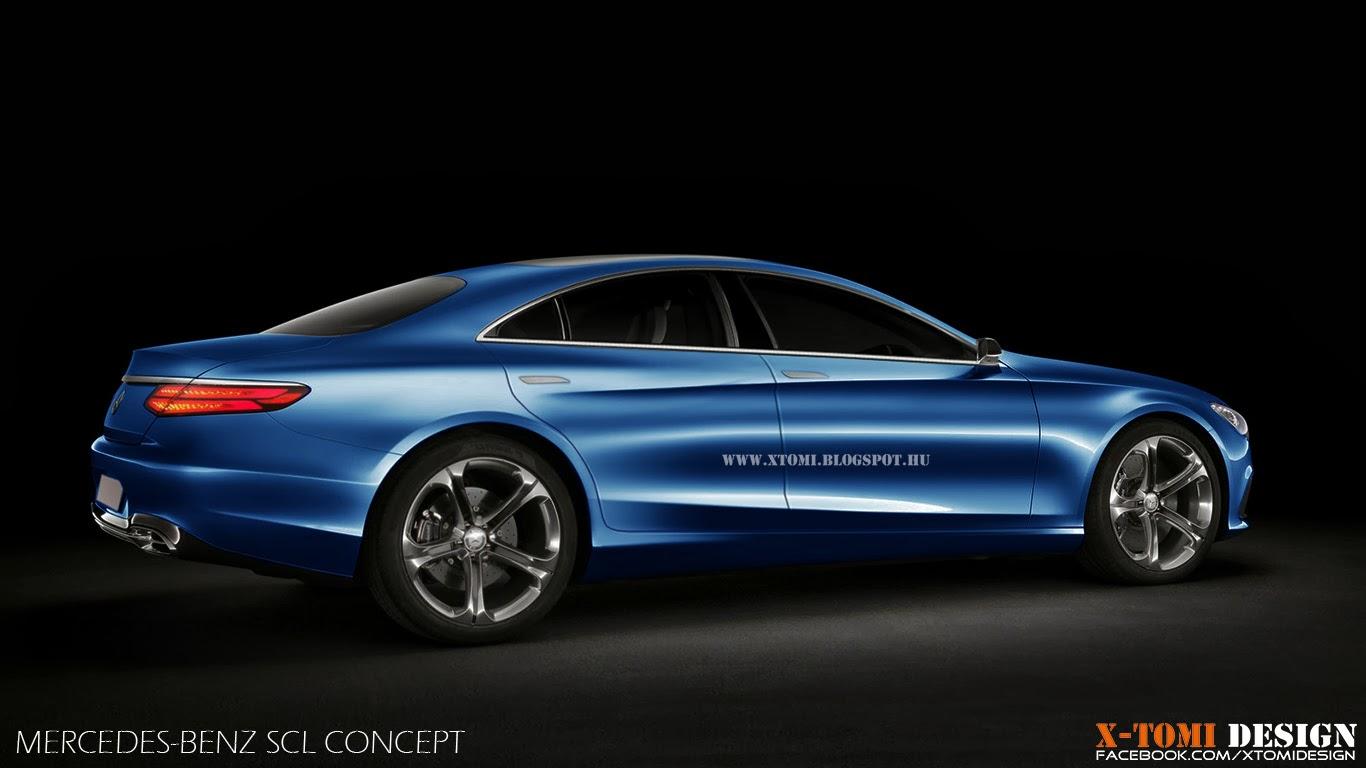 4 Door Corvette 2018 >> X-Tomi Design: Mercedes-Benz SCL Concept