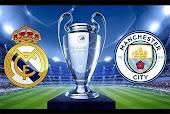 نتيجة مباراة ريال مدريد ومانشستر سيتي اليوم الجمعة بتاريخ 07-08-2020 في دوري أبطال أوروبا