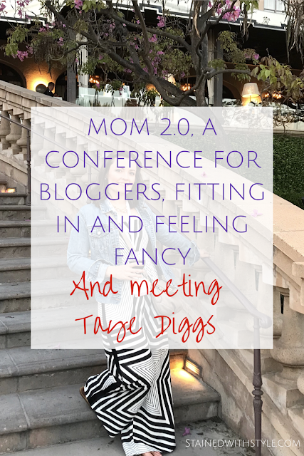 This is not my life, a fancy blogging conference and meeting taye diggs