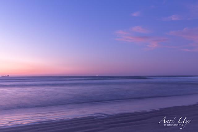 Pastel seascape Long Exposure at Milnerton Beach