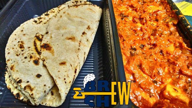 Phulka (Chapati) with Paneer Butter Masala | Cookaroo Review