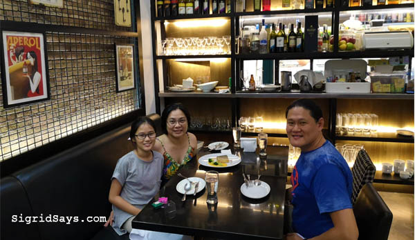 Terrasse Bistro Bacolod - dinner - dating our eldest - Bacolod blogger - Bacolod restaurants - Bacolod food - French cuisine - French food in Bacolod - wine and dine