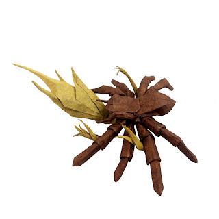 tarantula-with-cordyceps-origami
