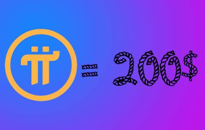 سعر عملة Pi network
