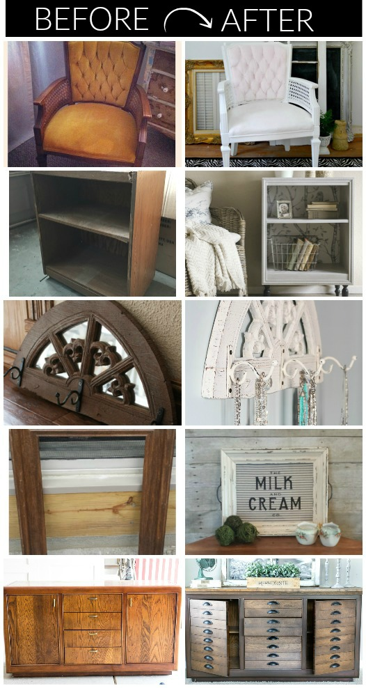 Trash To Treasure 14 Impressive Secondhand Makeovers