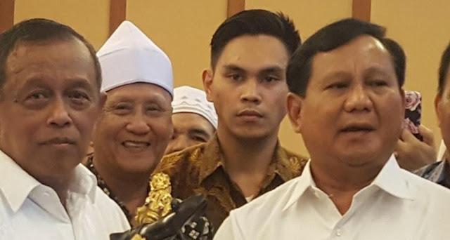 Pidato 'Indonesia Menang', Prabowo Akan Bicara Kemungkinan Mundur, Sudah Ada Tanda-tanda Kalah?