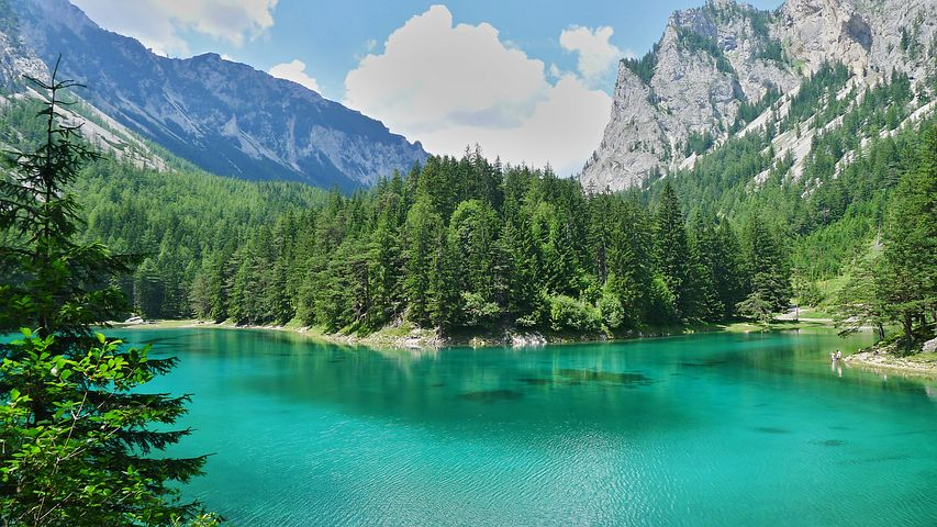 Yeşil Göl Parkı Avusturya