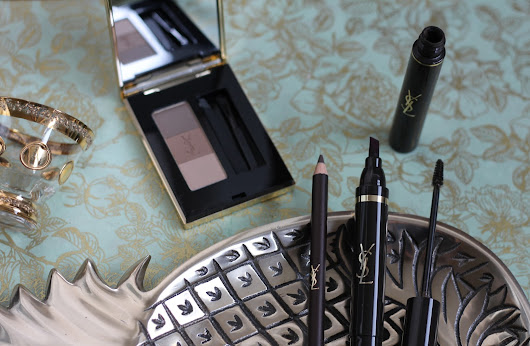 YSL Couture Brow Wardrobe: Review & Swatches