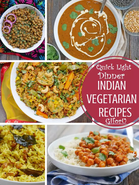 indian-vegetarian-recipes-Quick Light Dinner Recipes Vegetarian Indian-GIforU