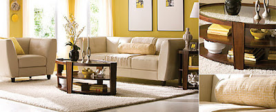 Monochromatic-Living-Room-Yellow-Scheme