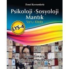 Palme LYS 4 Psikoloji Sosyoloji Mantık Soru Kitabı
